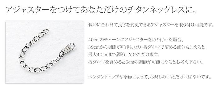 【チタンアクセサリー レジエ】ラッキーナンバー、星座、イニシャルから選べるネックレス